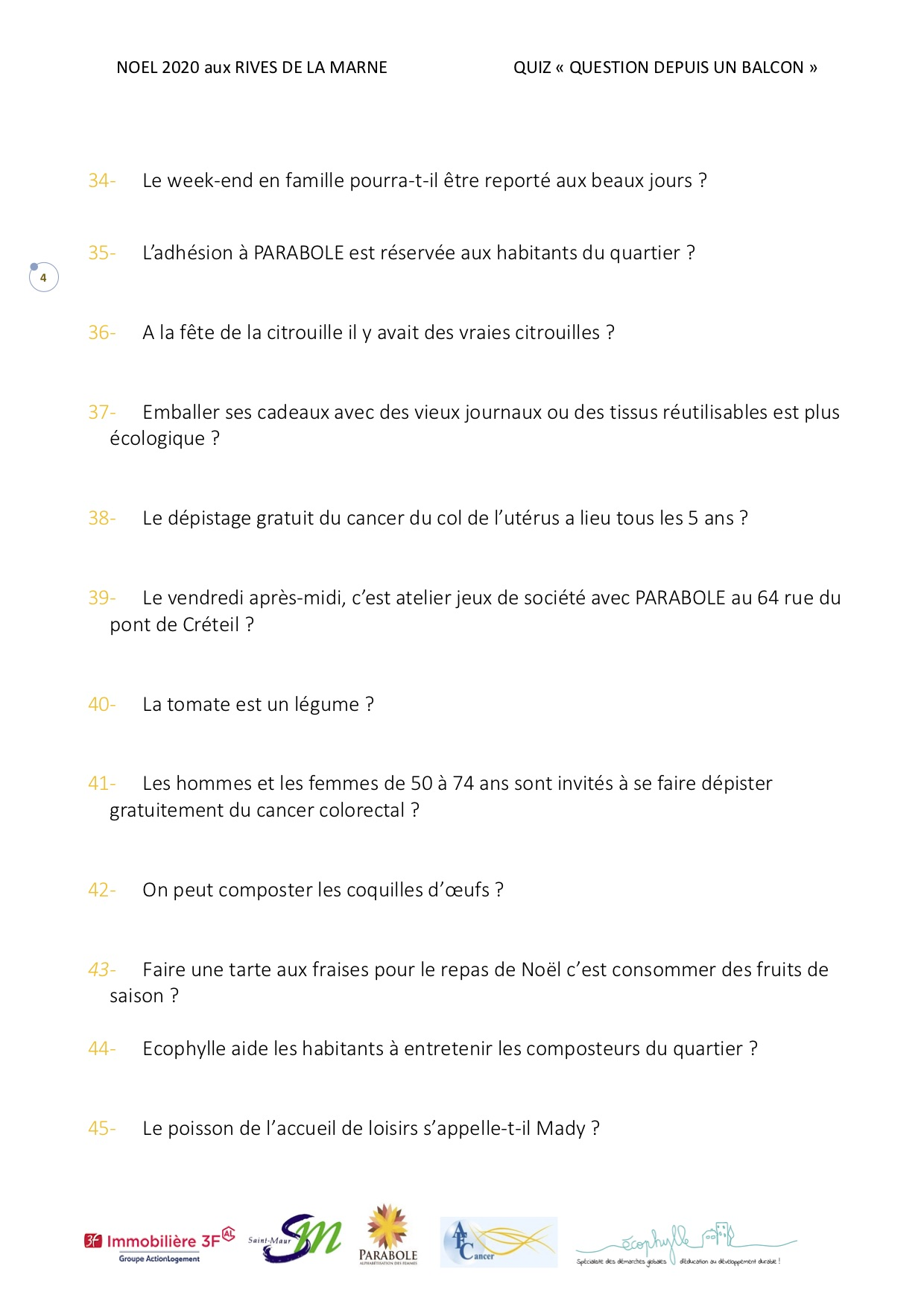 Quiz Noël page 4