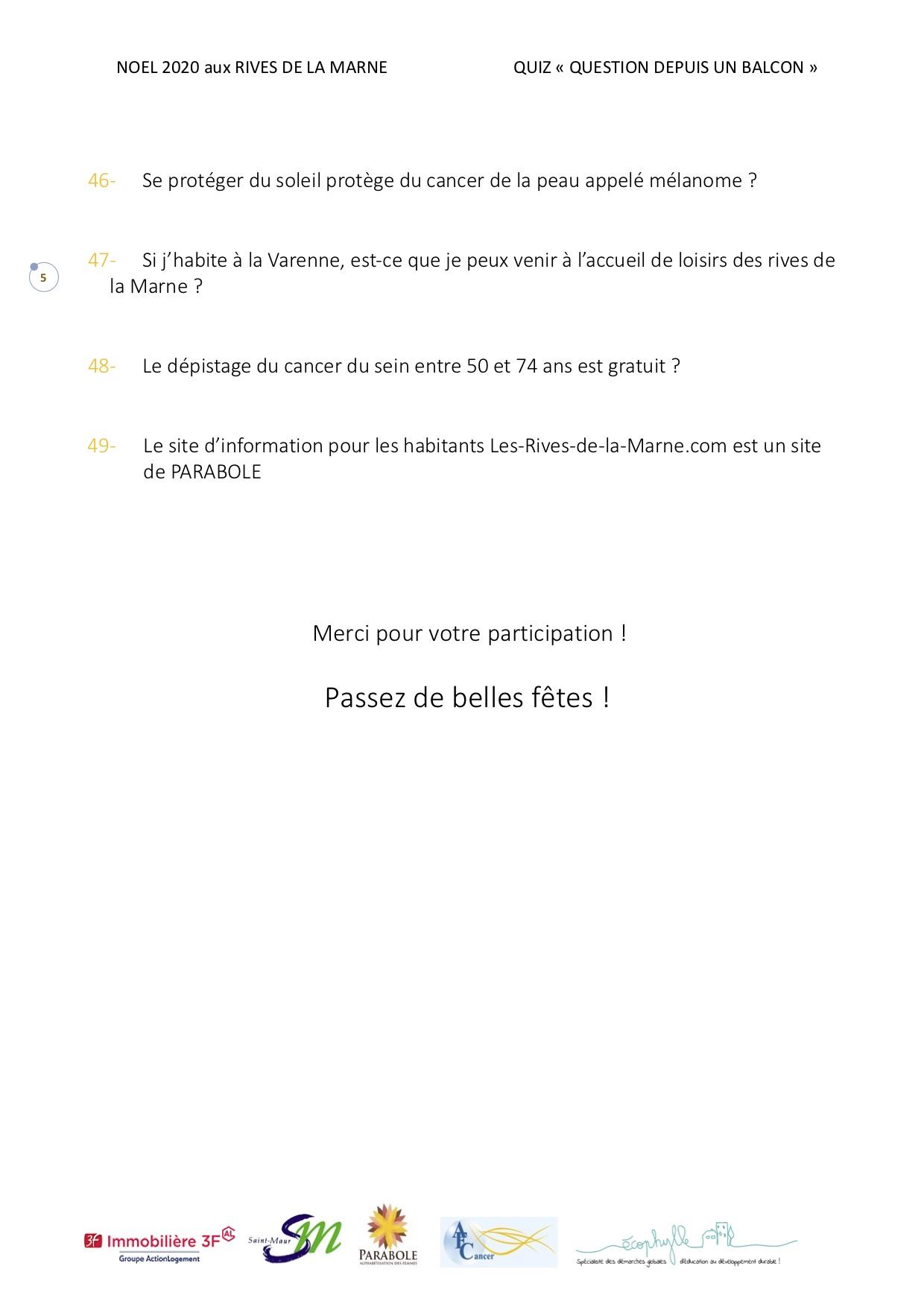Quiz Noël page 5
