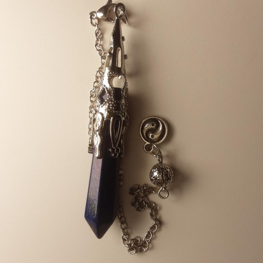 Pendule lapis lazuli pierret nicole