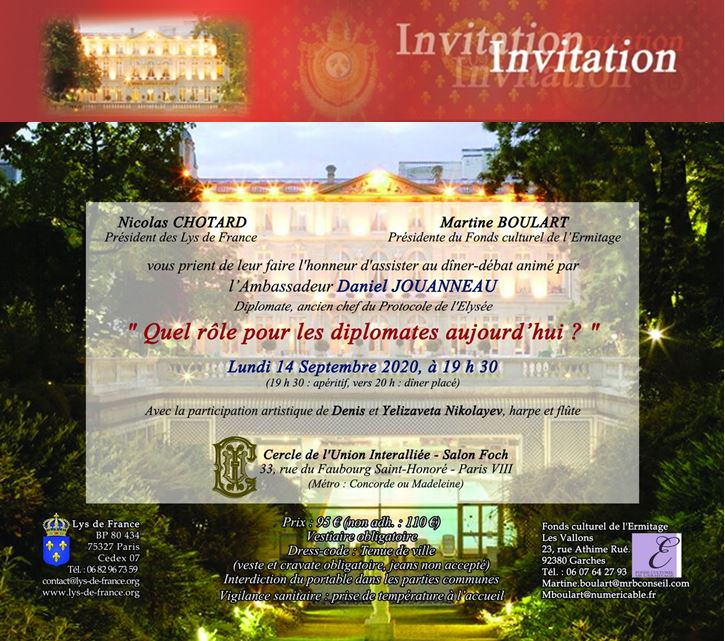 bandeau invitation diner debat interalliée