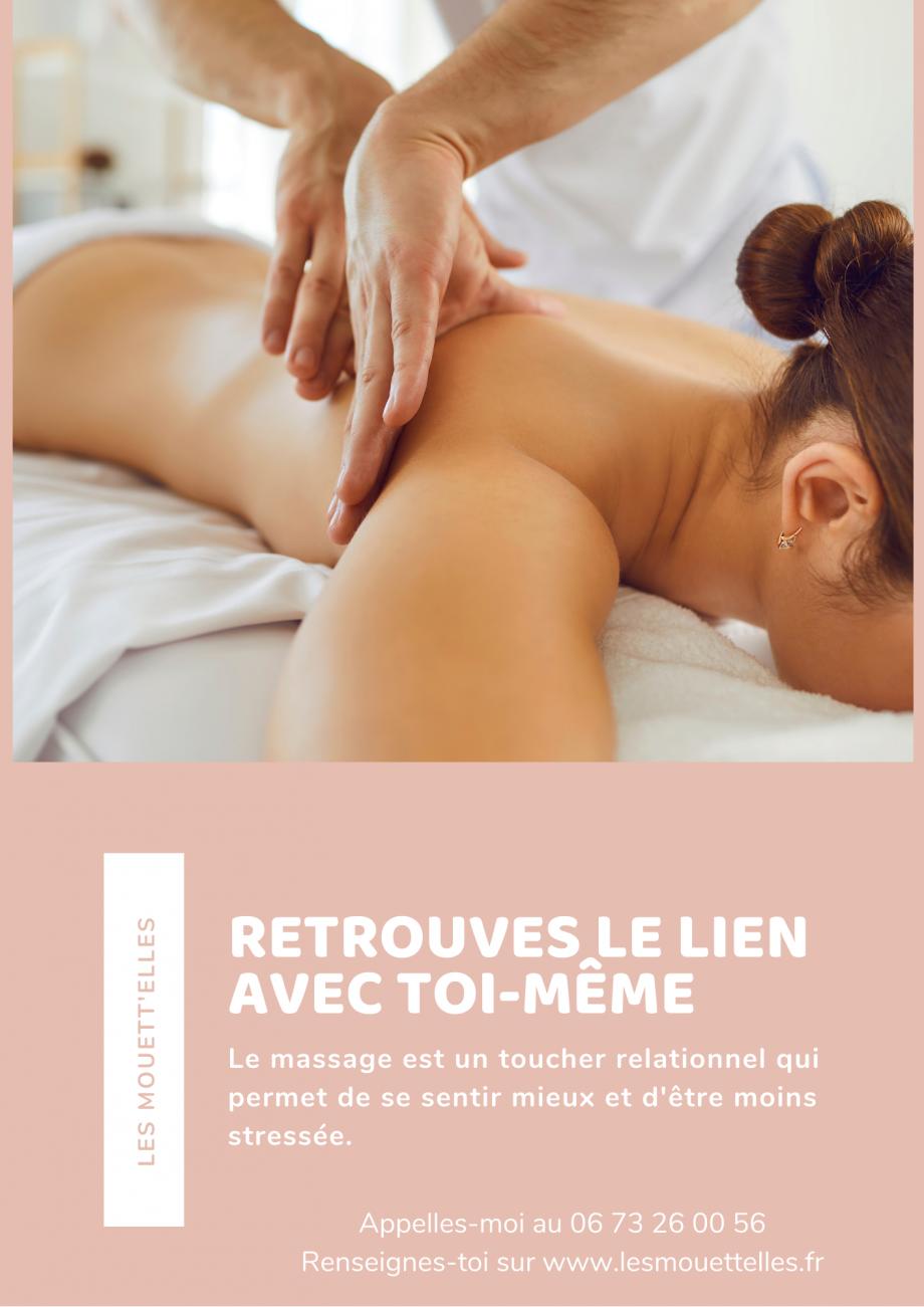 Le massage est un toucher relationnel