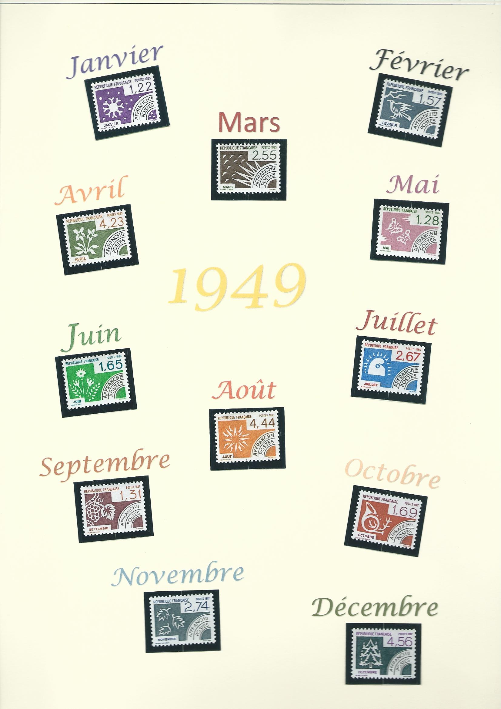 1 Année 1949