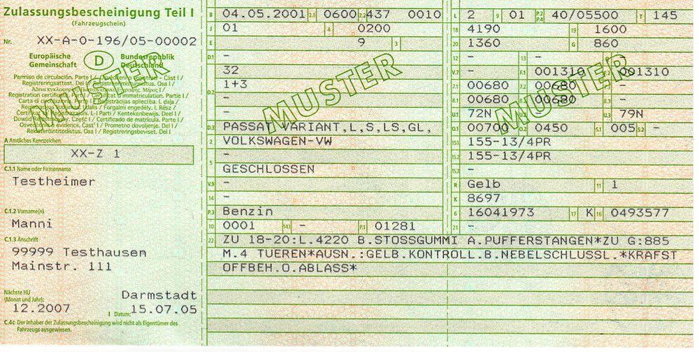 Comment immatriculer une voiture Allemande en Belgique?