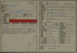 Procédure pour immatriculer un véhicule Suisse en France