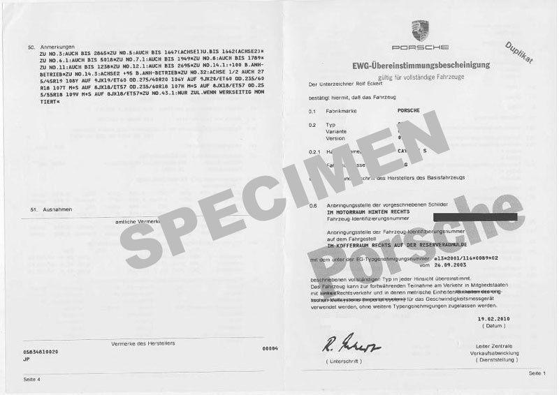 Demande en ligne de certificat de conformité pour voiture importée de l'étranger