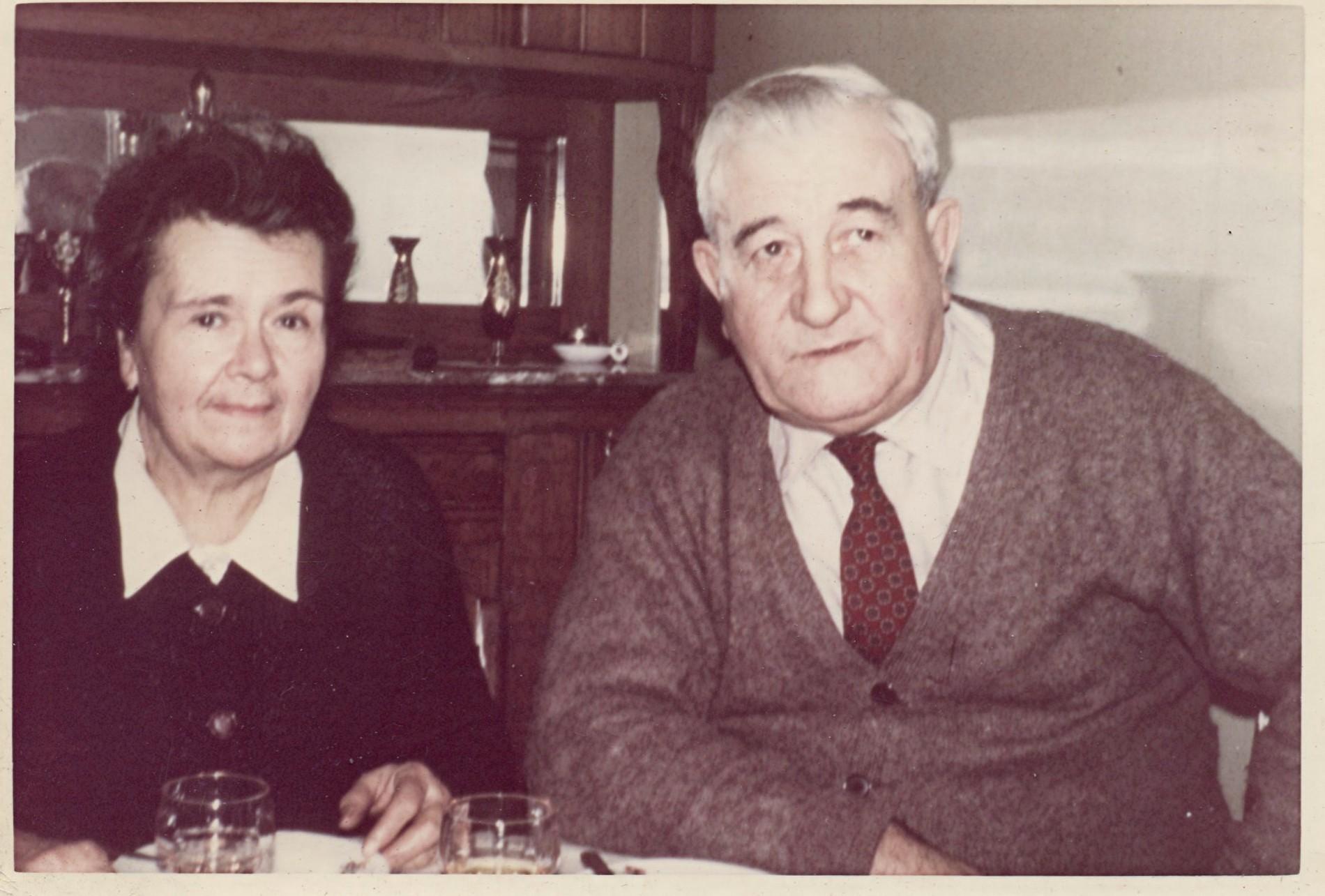 années 60 - BARRAUD Maurice et Gladie