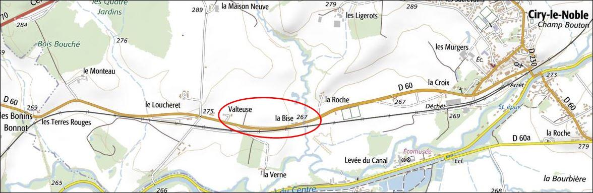 Carte SNCF Ciry