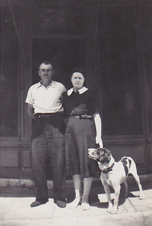 Dim 27 juin 1943 Many Jeandet, Ang+¿le Catherine Tillier, Miraud - Copie