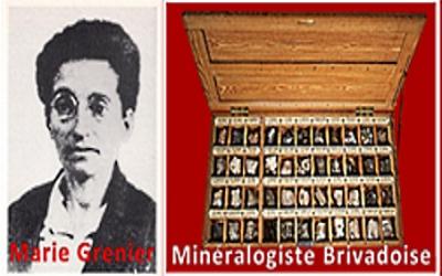Marie Grenier Minéralogiste G PEGERE