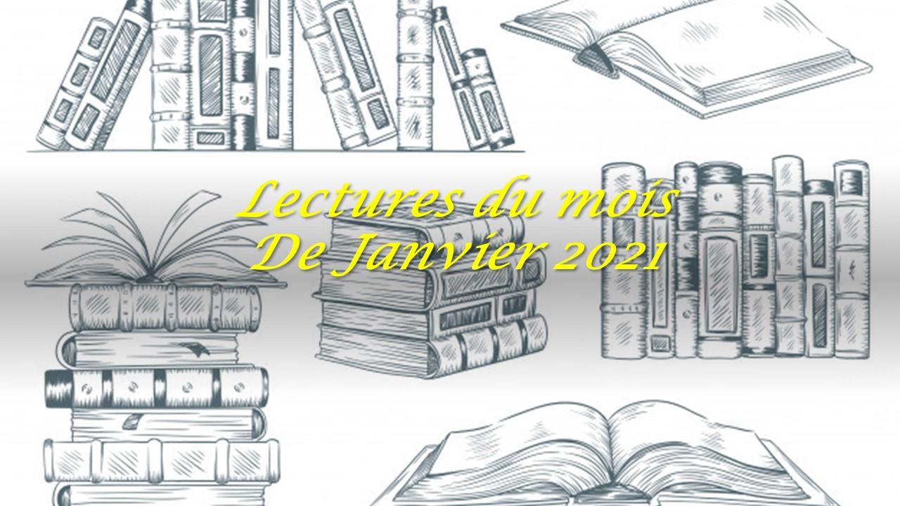 Lectures du mois de Janvier 2021