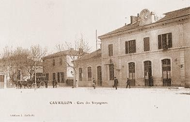 LA GARE DE CAVAILLON