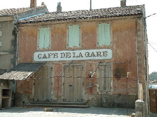 café de la gare à Robion