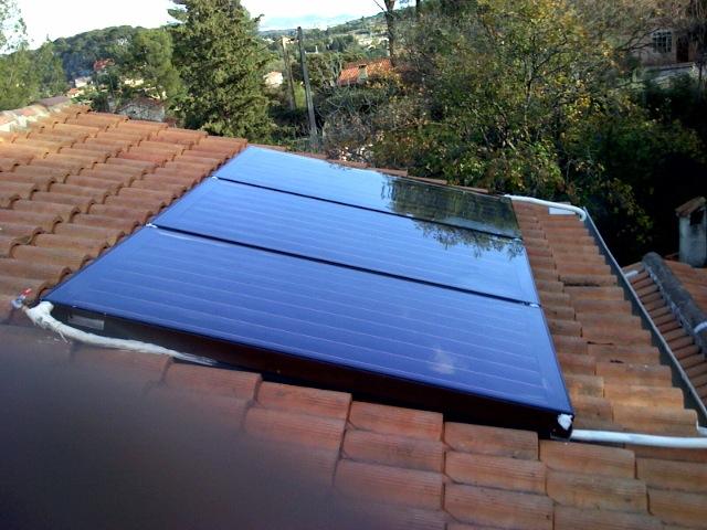 Capteurs solaire janvier 2008