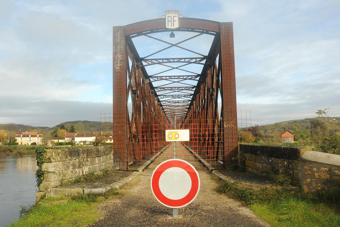 01 - Pont du Garrit fermé