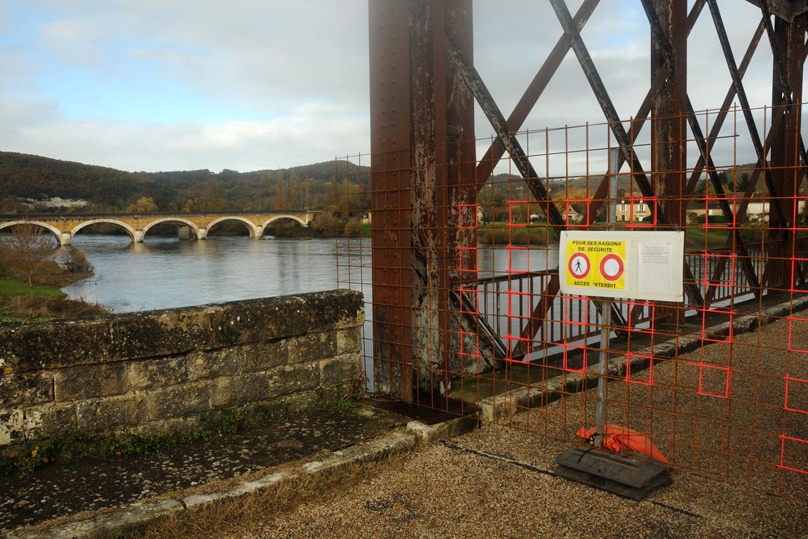 02 - Pont du Garrit fermé