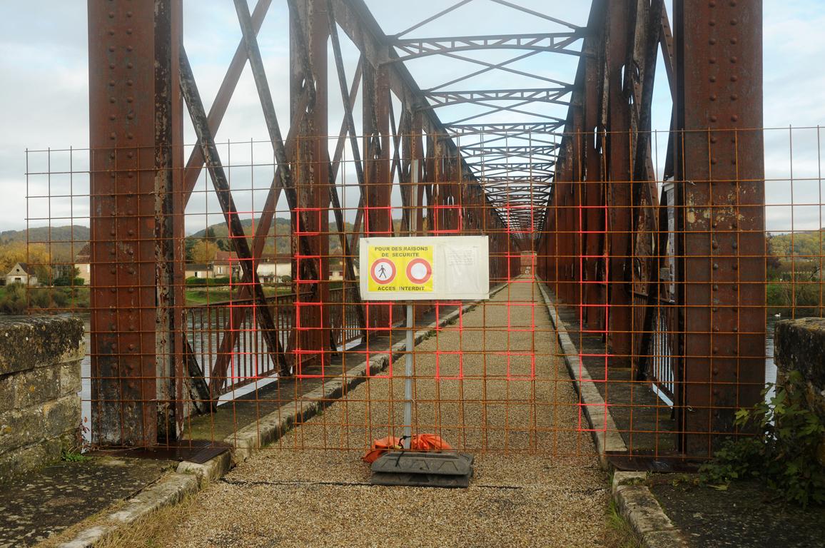 03 - Pont du Garrit fermé