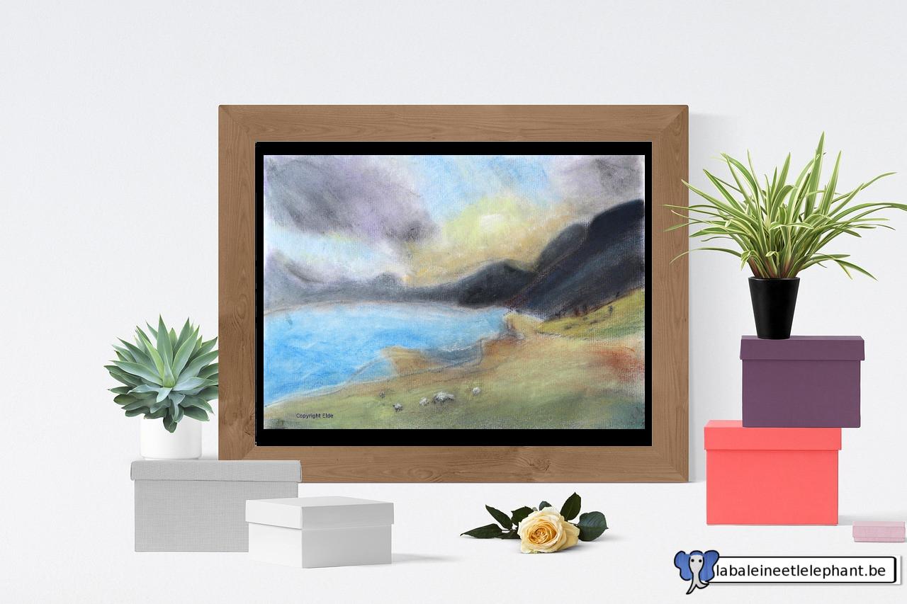 dessin1 paysage pastels