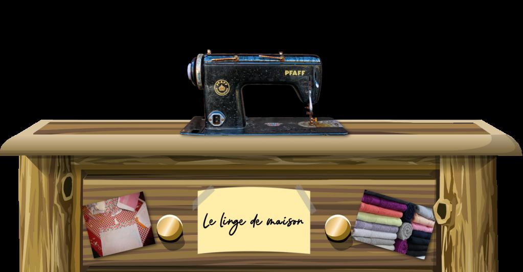 le linge de maison couture DIY