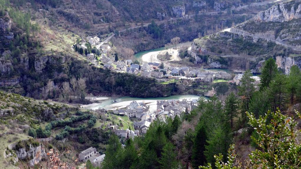 St-Enimie-village-haut