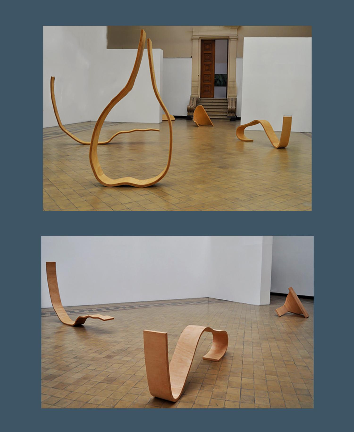 2 sculptures en bois