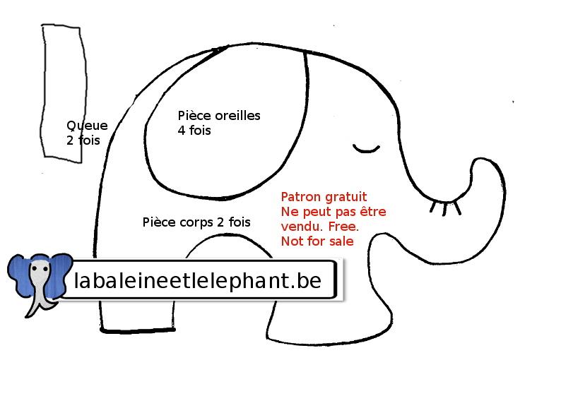patronelephantjouetchien