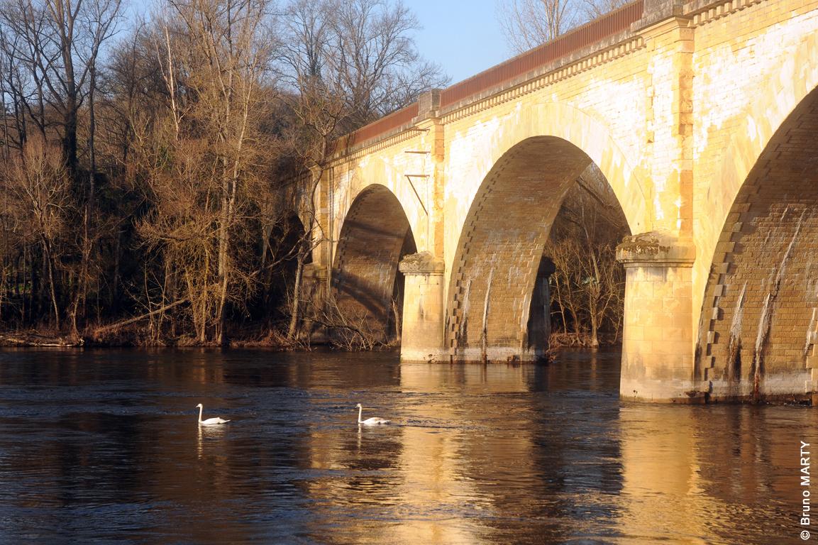 20 - Pont de Groléjac anciennement SNCF