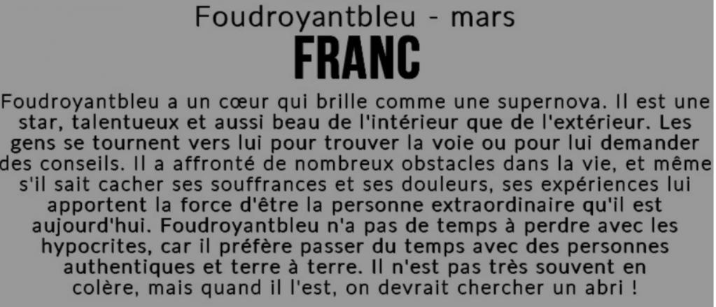 Franc 16.10.2020